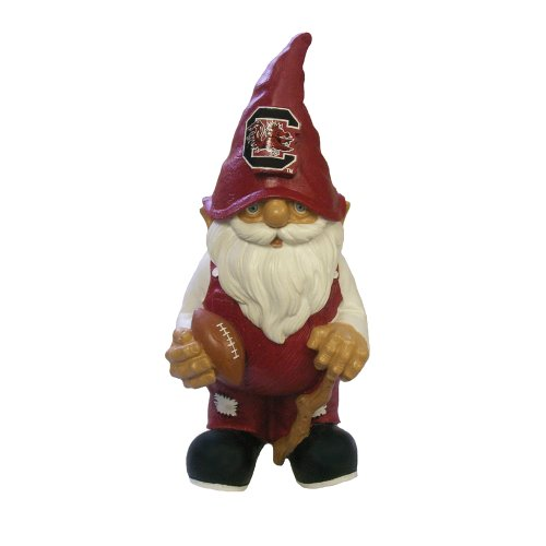 [NCAA South Carolina Fighting Gamecocks Garden Gnome] (Gnome Hat)