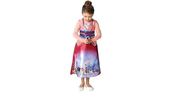 Rubies Disfraz oficial de la princesa Mulan de Disney para niñas ...