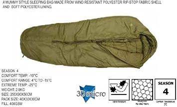 Challenger Lite 400 Sleeping Bag By Highlander Pro Force