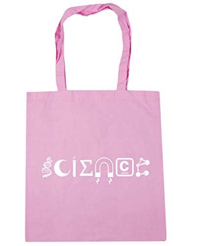 Tote 42cm x38cm Science Bag Beach Gym litres Shopping Classic 10 Pink Elements HippoWarehouse AfwqpE
