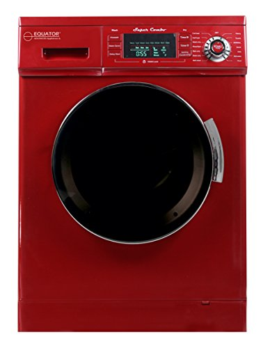 ECOAP EZ 4000 CV Merlot Equator 13 lbs Convertible Combo Washer Dryer with Optional Venting/Condensing Drying, Merlot