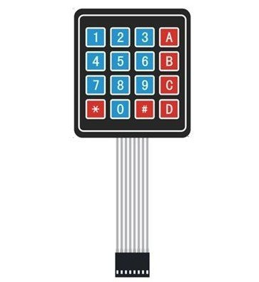 4x4 Universial 16 Key Switch Keypad Keyboard For Arduino