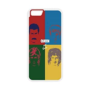 Queen Hot Space iPhone 6 Plus 5.5 Inch Cell Phone Case White Exquisite gift (SA_669033)