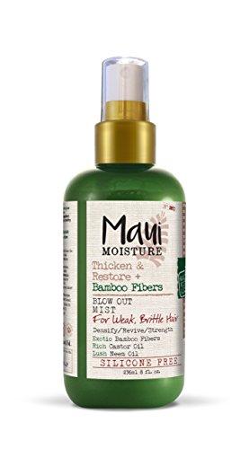 Maui Moisture Thicken & Restore + Bamboo Fiber Mist, 8 - Bamboo Maui