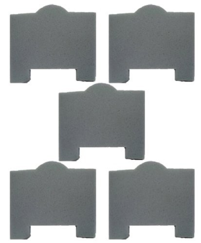 Porter Cable 7812 - Porter Cable 7812 / 7814 Wet Dry Vacuum Replacement Filter (5 Pack) # 897887-5pk
