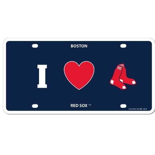 Siskiyou Sports BSLPH115 I Love Boston Red Sox Plate   B004VGA00E