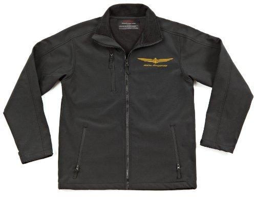 Joe Rocket Goldwing Soft Shell Mens Textile Street Racing Motorcycle Jacket - Black/Large