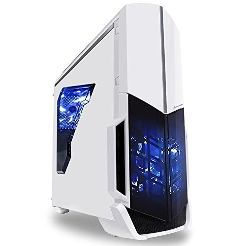 SkyTech Archangel GTX 1050 Gaming Computer Desktop PC FX-6300 3.50 GHz 6-Core, GTX 1050 2GB, 8GB DDR3, 1TB HDD, 24X DVD, Wi-Fi USB, Windows 10 Pro 64-bit, White (GTX 1050 Version)