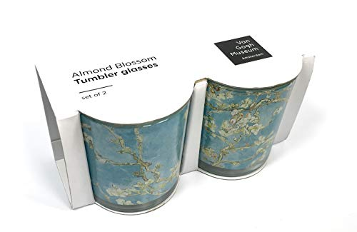 Van Gogh Tumblers Almond Blossom Design - 2 pack