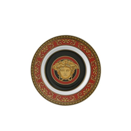 Versace by Rosenthal Medusa Red Bread & Butter ()