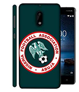 ColorKing Football Nigeria 05 Green shell case cover for Nokia 9