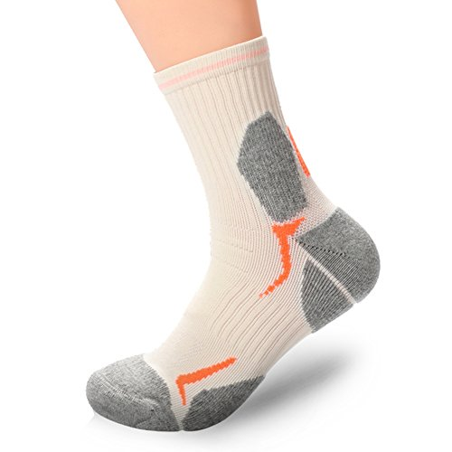 Anti Pair 6 Cushion Size 12 Socks Antibacterial Outdoors 1 smell Professional Hiking fqwT6p
