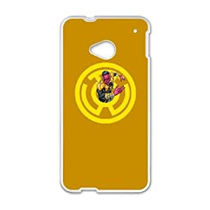 HTC One M7 Cell Phone Case White Sinestro Icon ISU415146