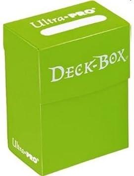 Ultra Pro - 82480 - juego de cartas de accesorios para jugar y recoger - Caja de 75 tarjetas de Protected Storage - Luz Verde (Importado de Francia): Amazon.es: Juguetes y juegos