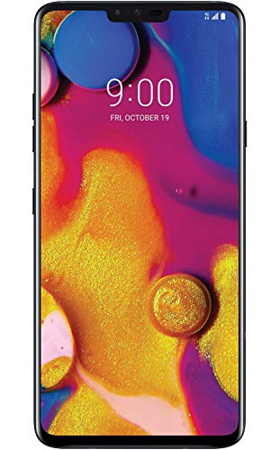 LG V40 ThinQ 64GB T-Mobile Smartphone w/ 5-Cameras, 6.4