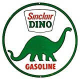 Sinclair Dino Gasoline Tin Sign 12 x 12in