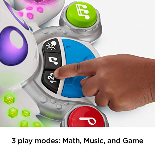 41iTATSNxZL - Fisher-Price Think & Learn Rocktopus, Musical Toy for Preschoolers, Multicolor