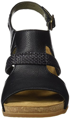 à Escarpins Naturalista Black N5031 Soft Femme El Grain Bout Ouvert Mola Noir dYqAXSxw
