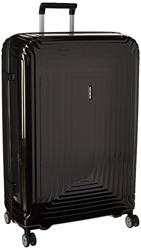 Samsonite Checked-Large, Metallic Black