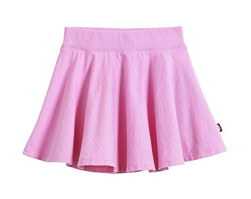City Threads Big Girls' Cotton Twirly Skirt Perfect for Sensitive Skin / SPD / Sensory Friendly For School or Play Fall/Spring, Medium Pink, Size (Girls White Skort)