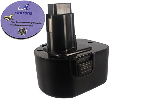 UPC 700115097222, vintrons (TM) Bundle - 3300mAh Battery For Black & Decker CD1202GK, CD1202K, + vintrons Coaster