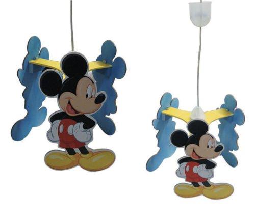Lámpara de Mickey Mouse, de techo, para dormitorio de niños ...