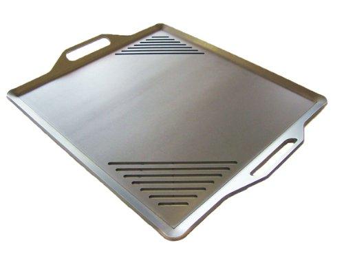 極厚バーベキュー鉄板(炭火焼き) t4.5mm 550mm x 450mm B00HP1FCV4
