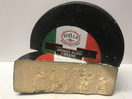 Asiago Aged Cheese (3.5 Lb Cut) Stella