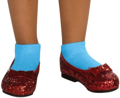 Wizard Of Oz Dress Up (Wizard of Dorothy Deluxe Ruby Red Costume Shoes)