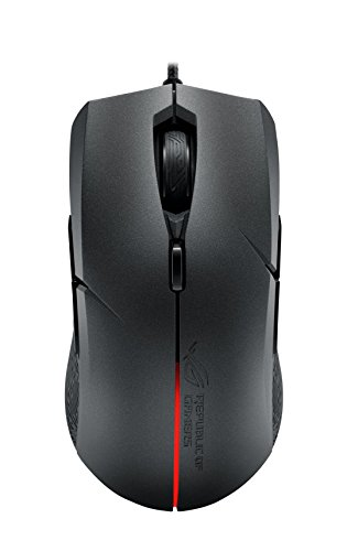 ASUS Ambidextrous Optical Gaming Mouse - ROG Strix Evolve | Wired Gaming Mouse for PC | 7200 DPI, Omron Switches | 4…
