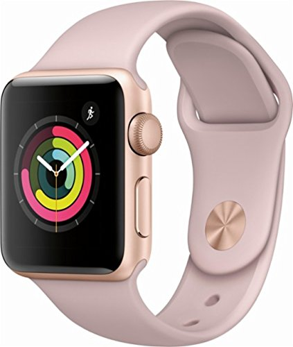 - GPS - Gold Aluminum Case with Pink Sand Sport Band - 38mm ()