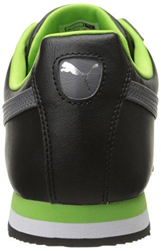 Puma - Zapatillas para hombre Black/Steel Gray