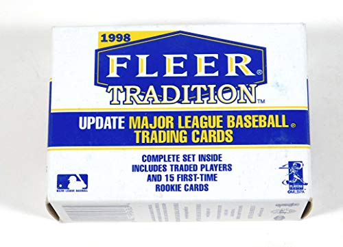 1998 Fleer Tradition Update Factory Set (MLB - Baseball - 100 Cards - Rookies)