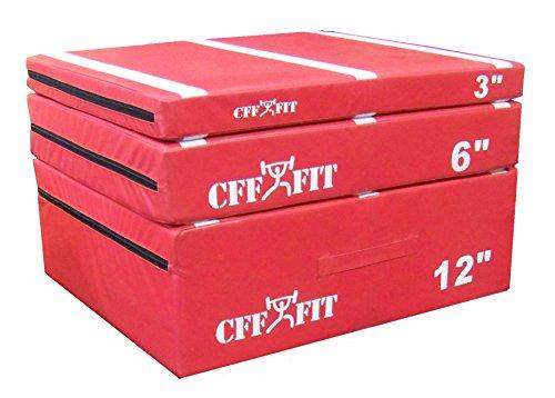 CFF Cushion Plyo Boxes (Set 3'-6'-12')
