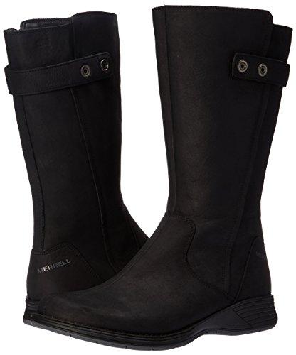 Tall Black Merrell Wtpf Travvy Boots Womens zWA0gw