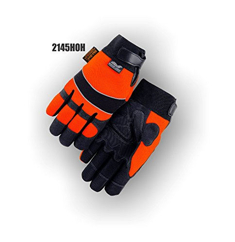 (12 Pair) Majestic ARMORSKIN GLOVES WITH VELCRO AND MAJESTIC PATCH & WATER PROOF & HEATLOK - 2X LARGE(2145HOH/12)