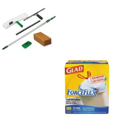 kitcox70427ungpwk00-value-kit-pro-window-kit-ungpwk00-and-glad-forceflex-tall-kitchen-drawstring-bag