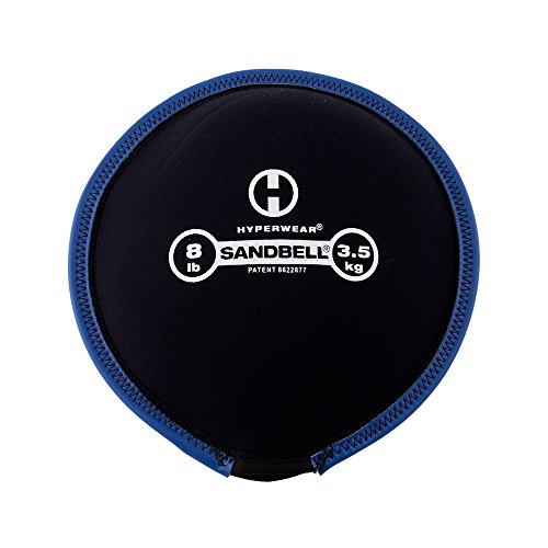 Hyperwear SandBell Sandbag Training Free Weight (Pre filled) (8)