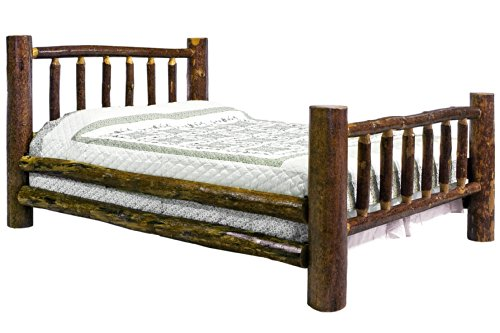 montana woodworks glacier country collection bed king