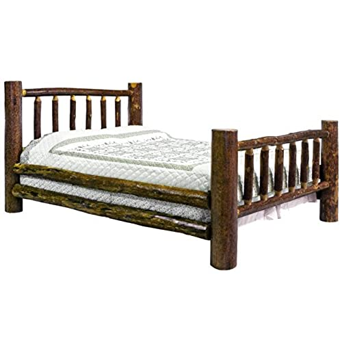 Rustic Wooden Beds: Amazon.com