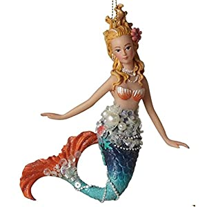 41iTGhMZZ%2BL._SS300_ 100+ Mermaid Christmas Ornaments