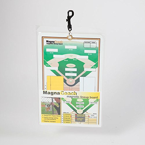 Markwort Magnacoach Baseball/Softball Magnetic Lineup Board (Line Markerboard)