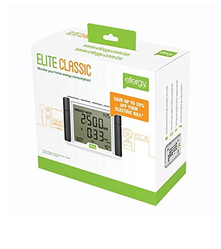 Efergy Elite 3.0 Im Haus Elektrizit/ätsmonitor Drahtlos