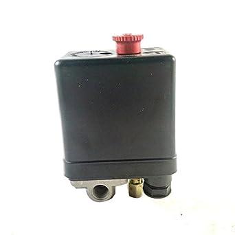90-120 PSI compresor de aire válvula de presión Interruptor de control: Amazon.es: Industria, empresas y ciencia