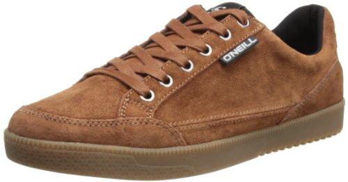 O'Neill Delmar - Zapatillas de cuero para hombre marrón - Rust Red/Black