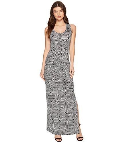 大学生リーズスラム[ニコールミラー] Nicole Miller レディース Vanessa Maze Printed Maxi ドレス [並行輸入品]