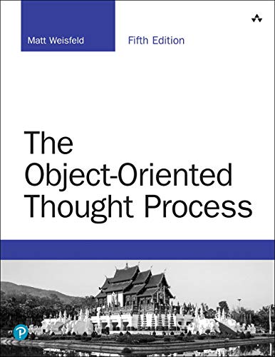 The Object-Oriented Thought Process (5th Edition) (Developer's Library)-cover