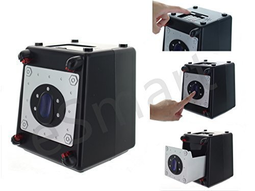 Laser Alarm Beam Combo Safe - 7 X 5 - Colors Vary