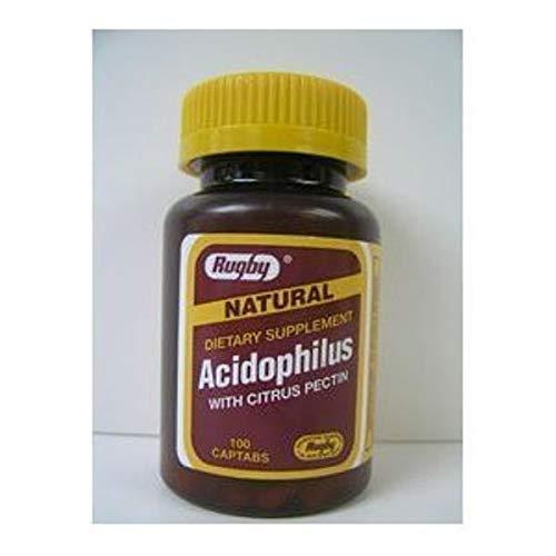 Acidophilus Caplets with citrus Pectin - 100 Ea