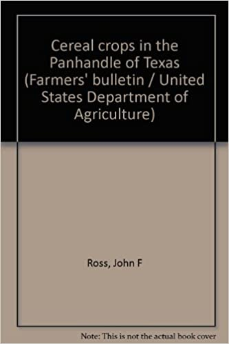 Téléchargez des livres gratuitement sur epub Cereal crops in the Panhandle of Texas (Farmers' bulletin / United States Department of Agriculture) in French PDF MOBI